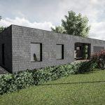 Modernus namo projektas Oniksas