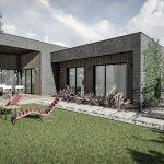 Oniksas - namo su terasa projektas