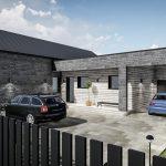 Įrengtas namas su garažu