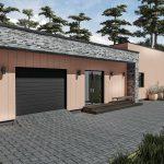 Namas su garažu Plazma
