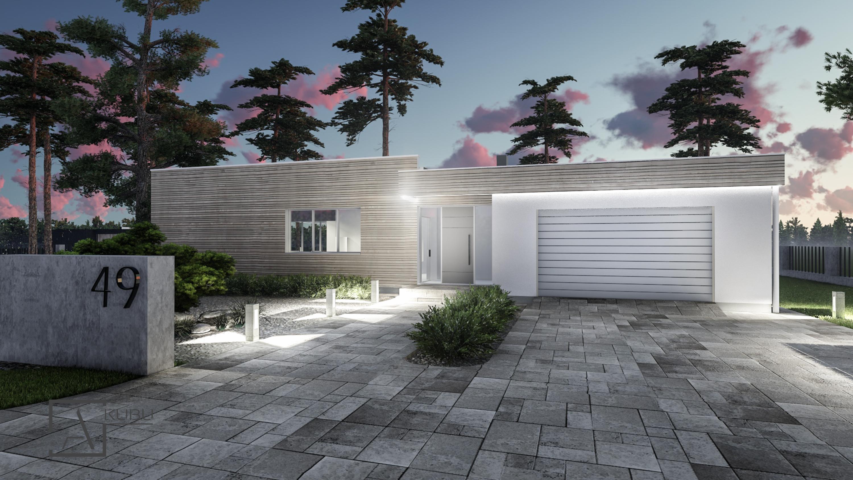 Topazas - modernus namų projektas