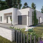 Modernus A KUBU namų projektas
