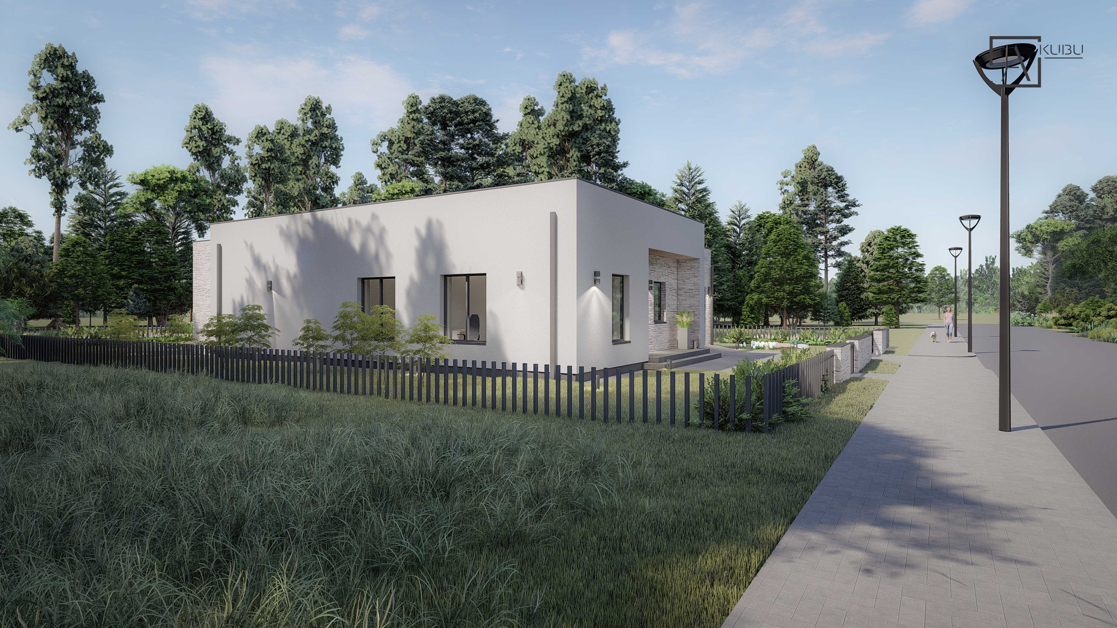 Modernus namų projektas