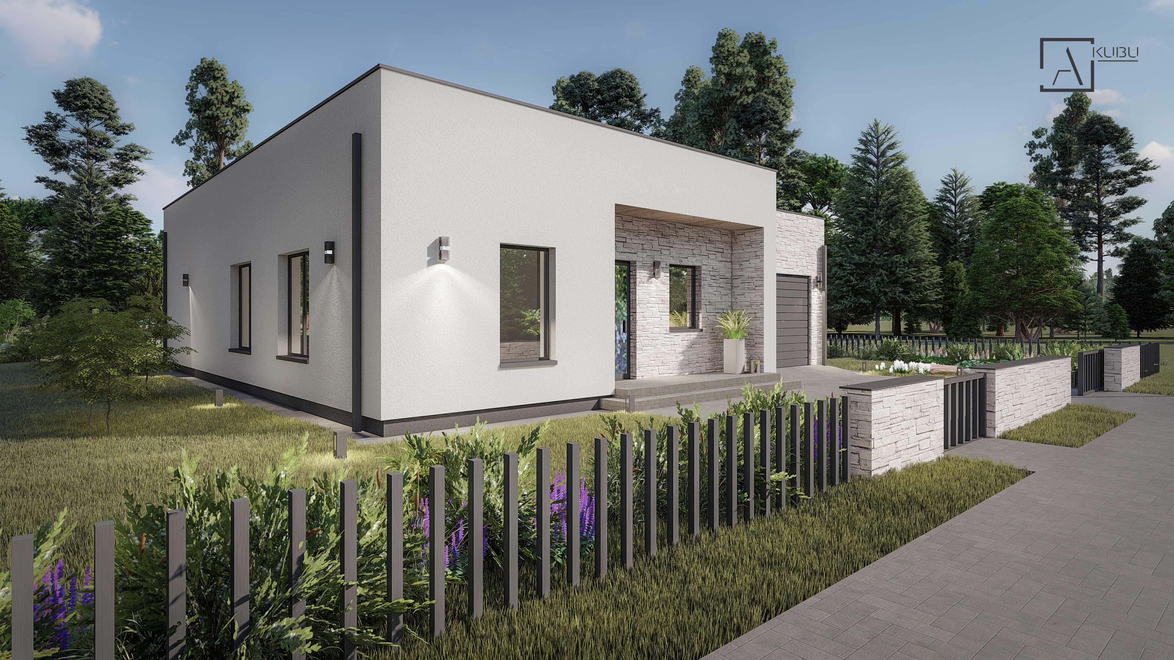 Modernus A KUBU namas