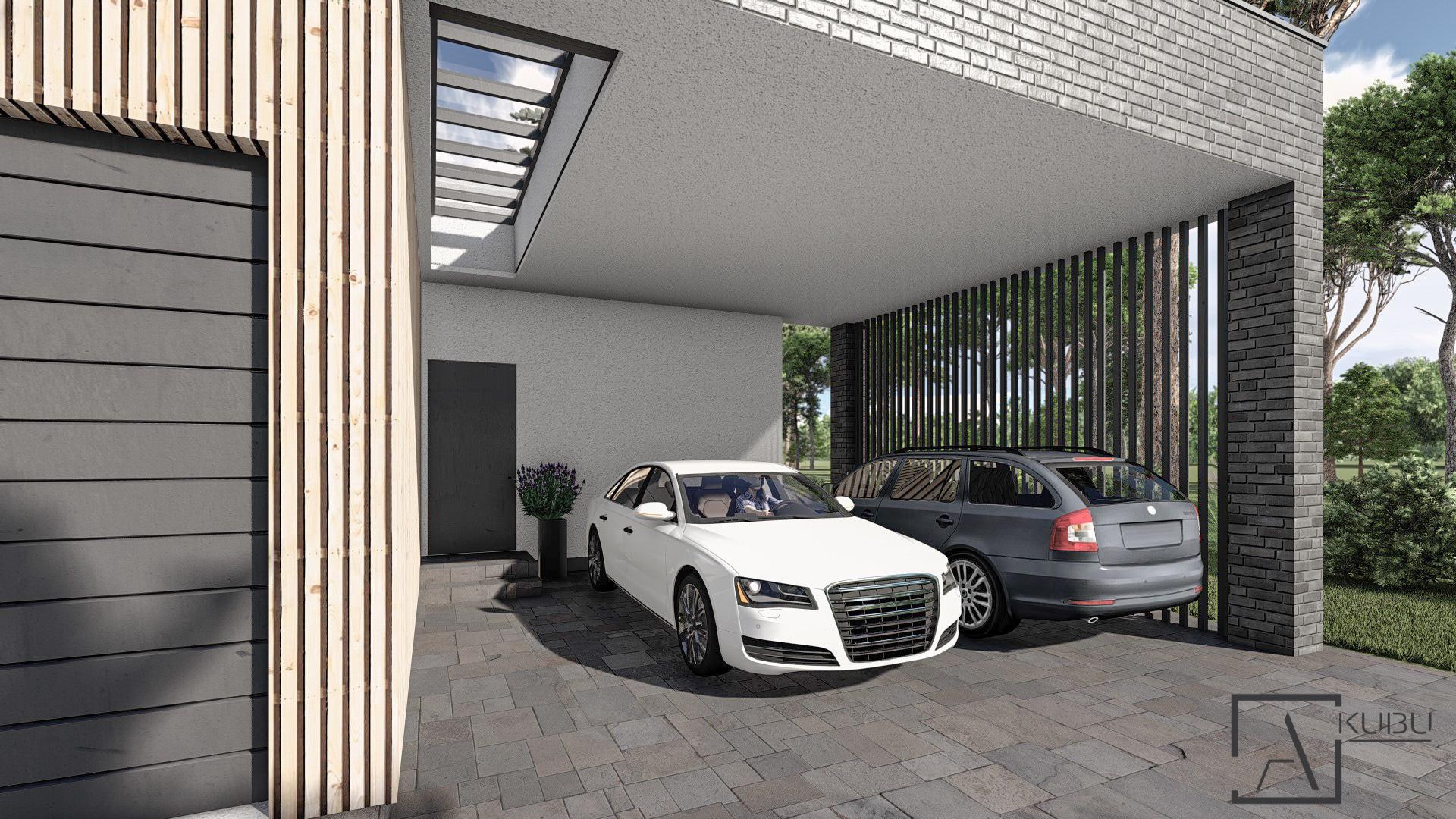 Garažas-stoginė
